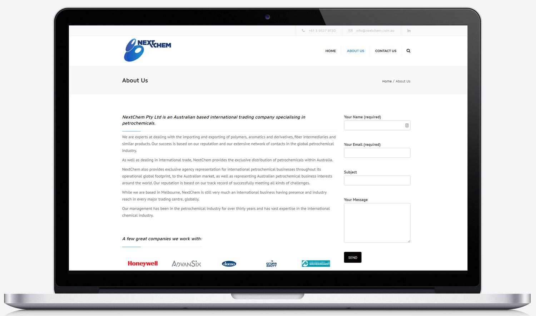 NextChem Australia About Page