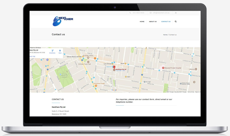 NextChem Australia Contact Page